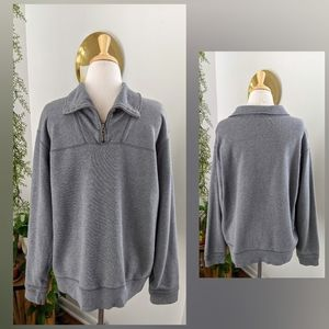 Eddie Bauer | Gray Pull Over Sweater | Medium